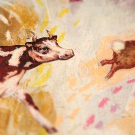 Farm Friends/Barn Fire (Artist Book)
